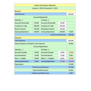 Income and Expense Ledger 24