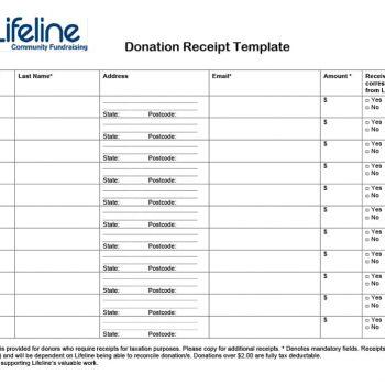 donation receipt template 09