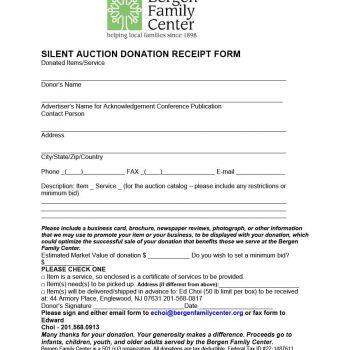 donation receipt template 12