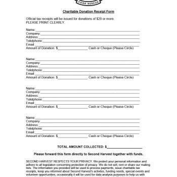 40 Donation Receipt Templates Letters Goodwill Non Profit