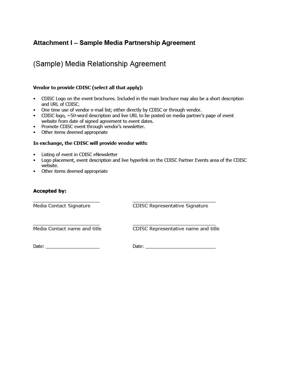 Relationship Contract Templates  Relationship Agreements