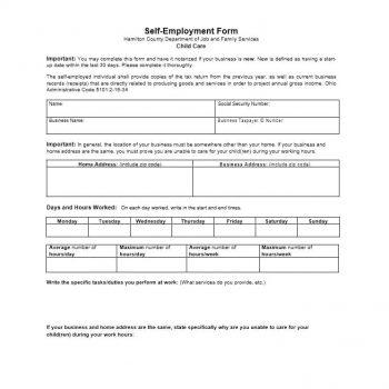 self employment ledger template 05