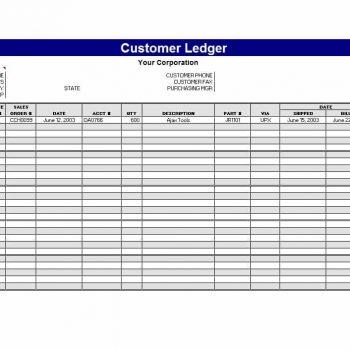 self employment ledger template 13