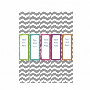 Binder Spine Template 11