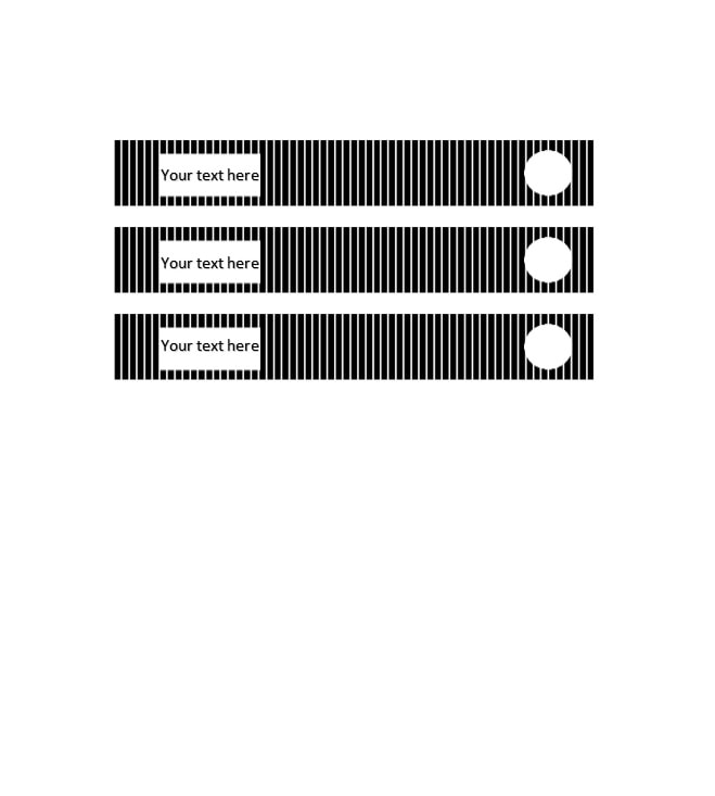graphic relating to Printable Binder Inserts called 40 Binder Backbone Label Templates within Term Layout - Template