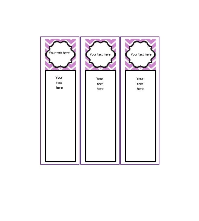 template for binder spine