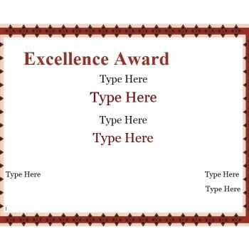 Certificate of Achievement Template 09
