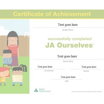 Certificate of Achievement Template 30