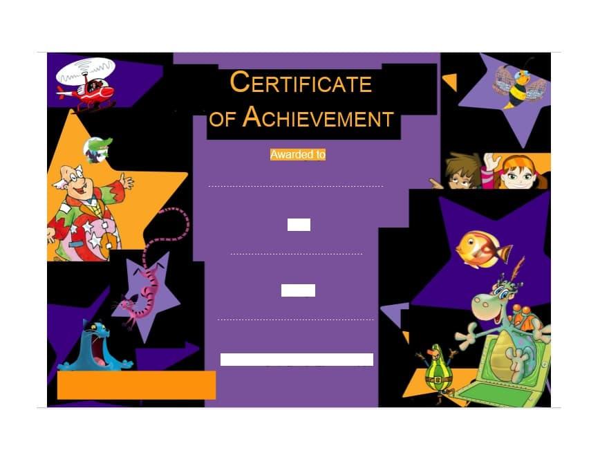 Certificate of Achievement Template 34