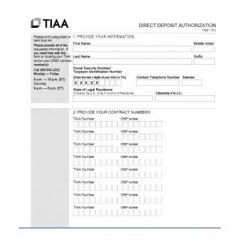 Direct Deposit Authorization Form 08