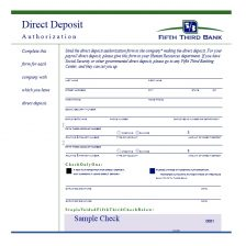 Direct Deposit Authorization Form 29