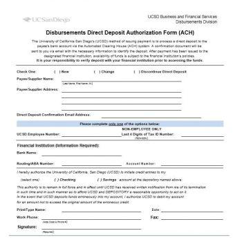 Direct Deposit Authorization Form 34
