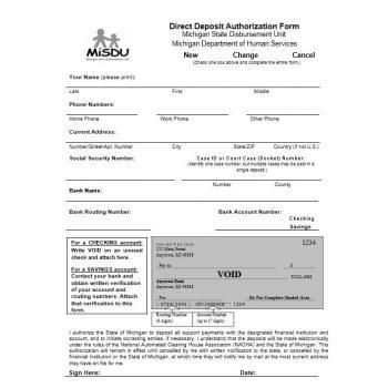 Direct Deposit Authorization Form 39