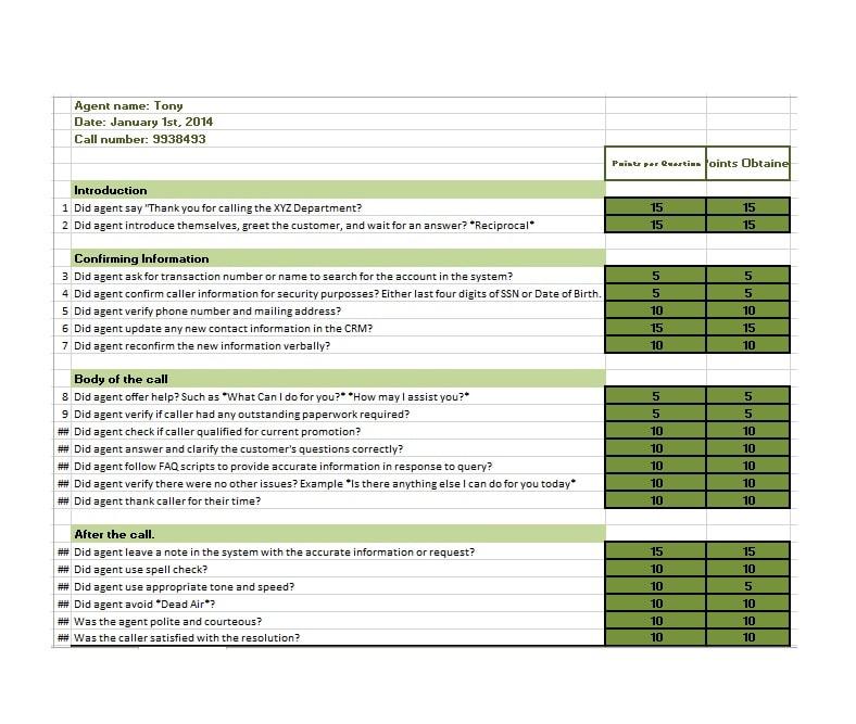 Grade Book template 07