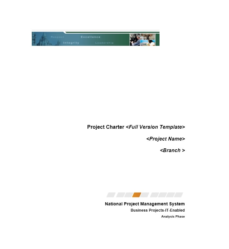 Project Charter Template 09