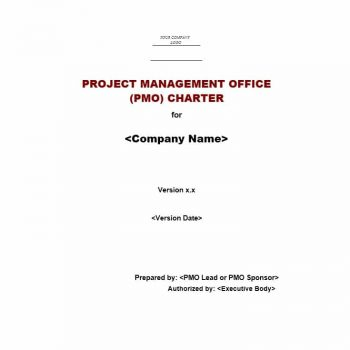 Project Charter Template 12