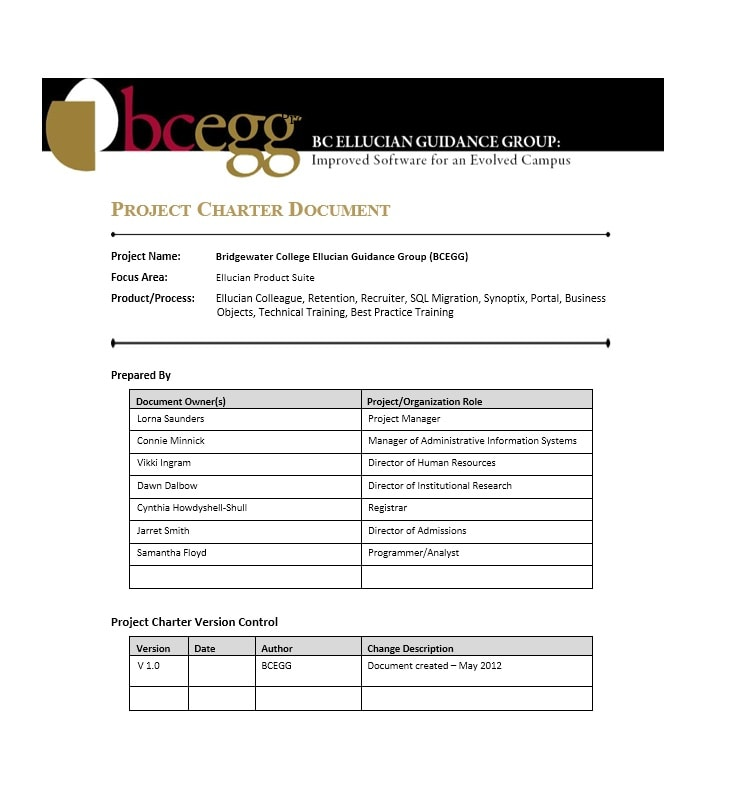 smo 686 project charter example