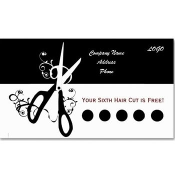 Punch Card Template 05