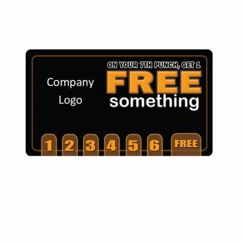 Punch Card Template 13