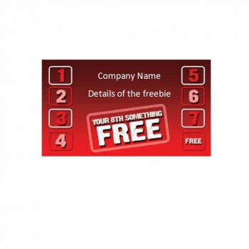 Punch Card Template 16