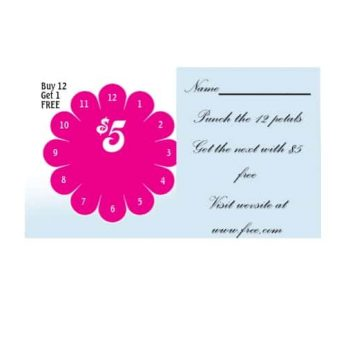 Punch Card Template 24