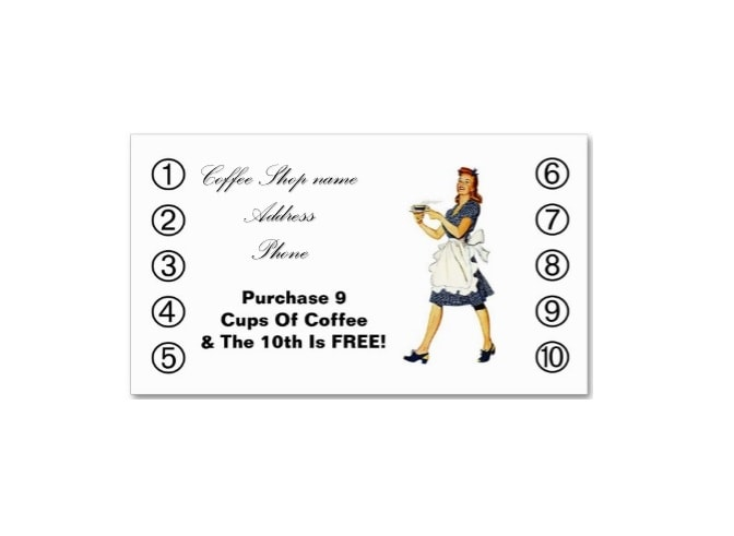 Printable Punch Reward Card Templates Free - Free punch card template