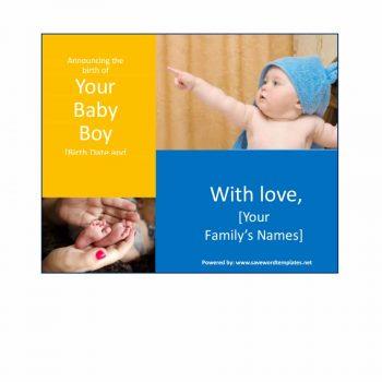 birth announcement template 03