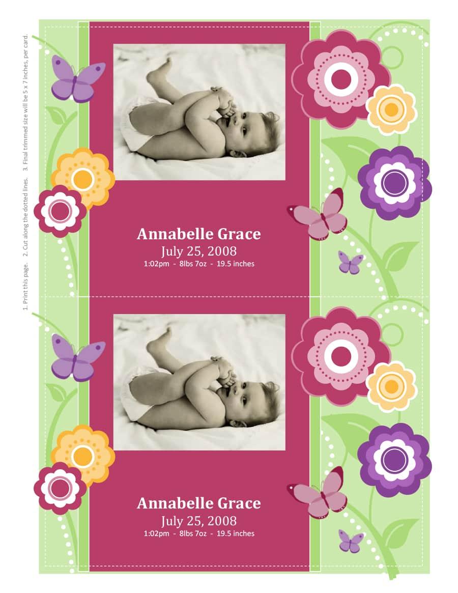 birth announcement template 04