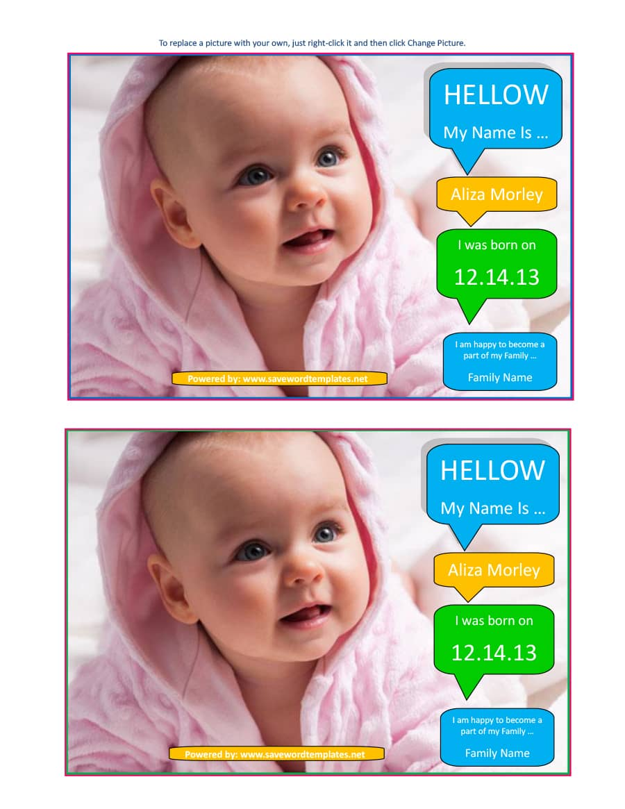 birth announcement template 07