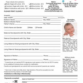 birth announcement template 19