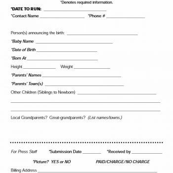 birth announcement template 41