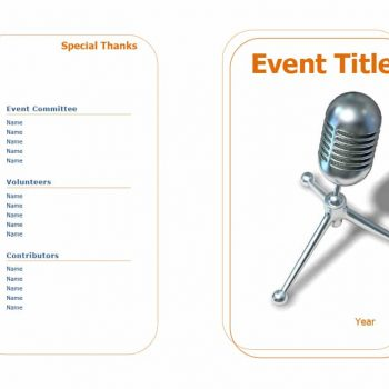 event program template 01