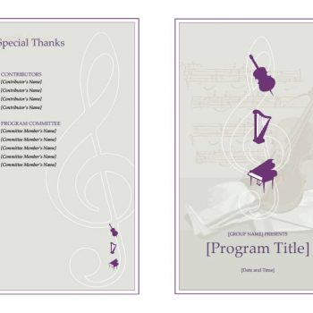 event program template 03