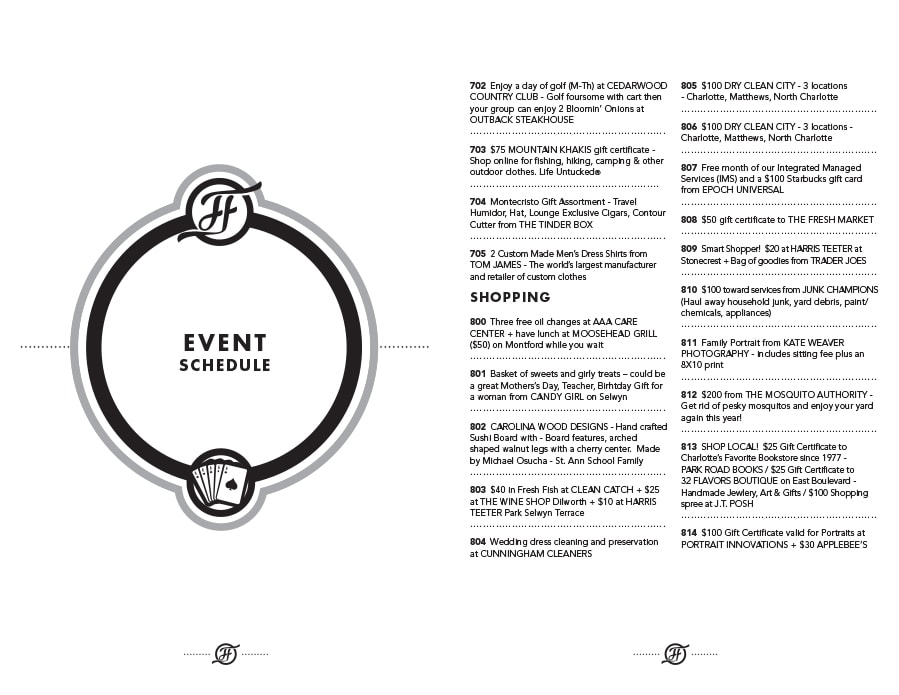 40 free event program templates designs template archive event program template 07 maxwellsz