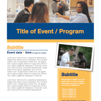 event program template 08