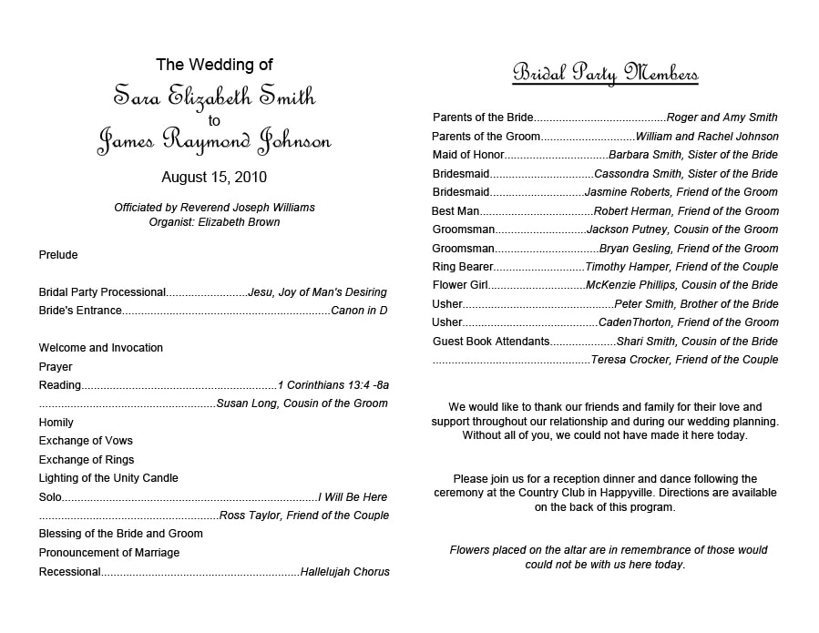Event program template 33 silent auction program template for Auction program template
