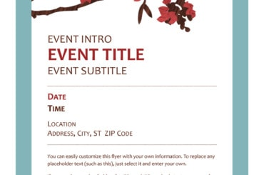 event program template 15