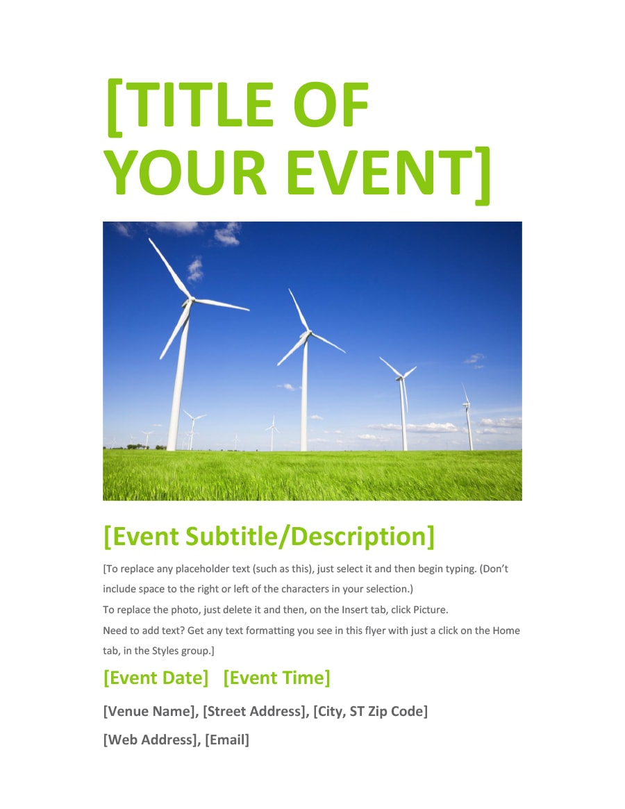 free or affordable event program templates for events on a budget
