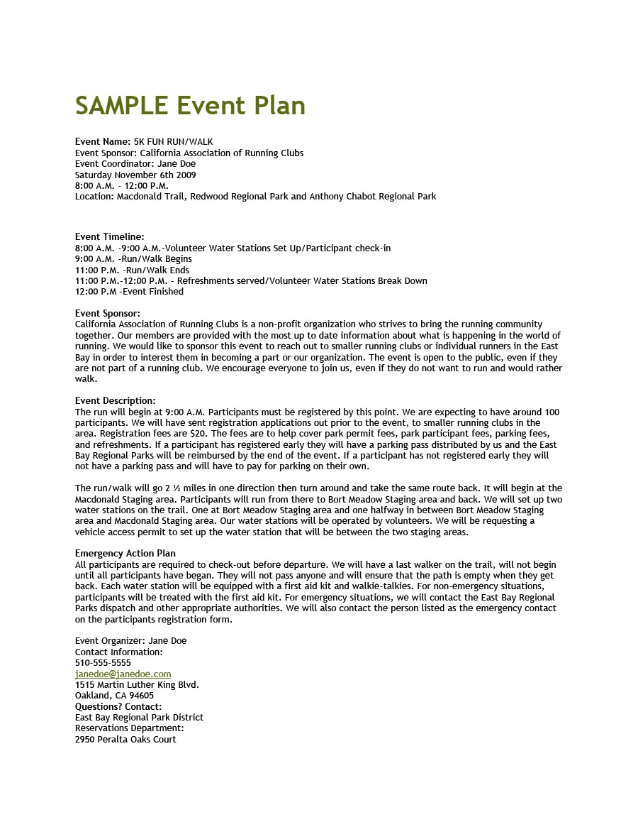 Event Program Template 32