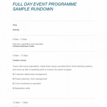 event program template 35