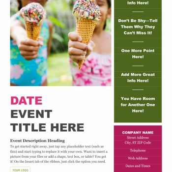 event program template 42