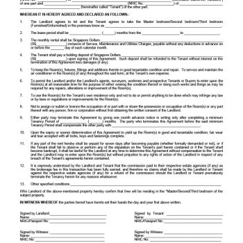 room rental agreement 25