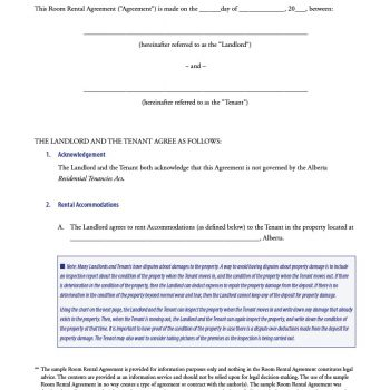 room rental agreement 32