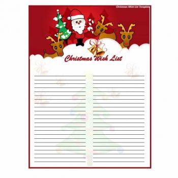 christmas wish list template 01