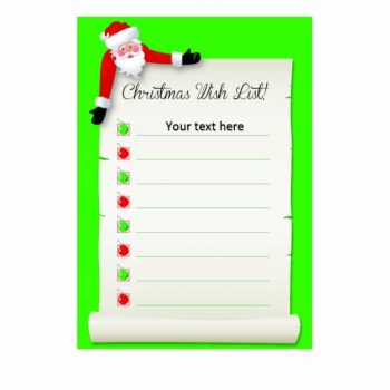 christmas wish list template 19