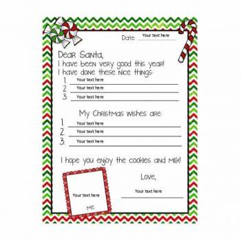 christmas wish list template 34