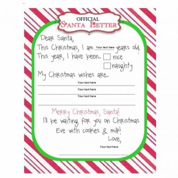 christmas wish list template 37