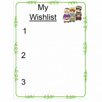 christmas wish list template 39