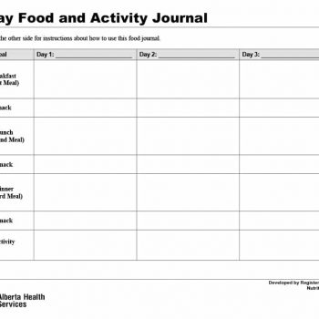 food journal template 06
