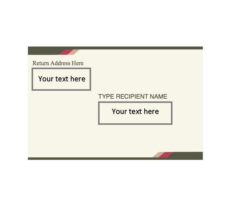 Return Label Template from templatearchive.com